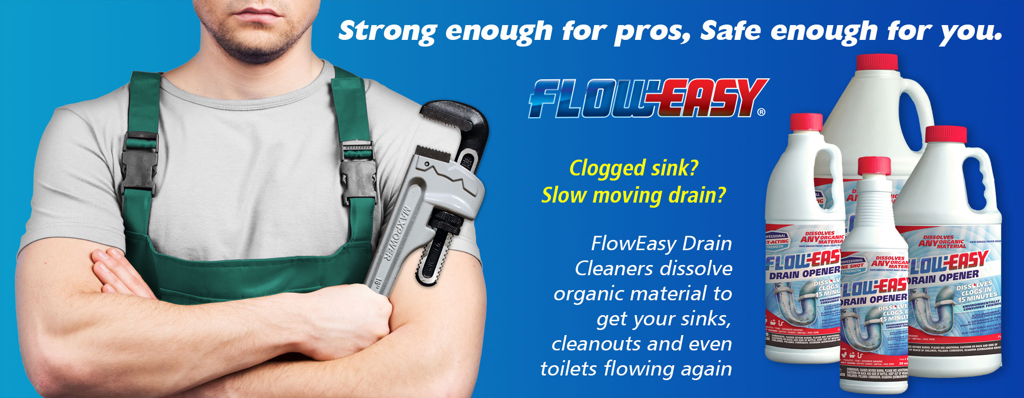 Flow-Easy Drain Opener